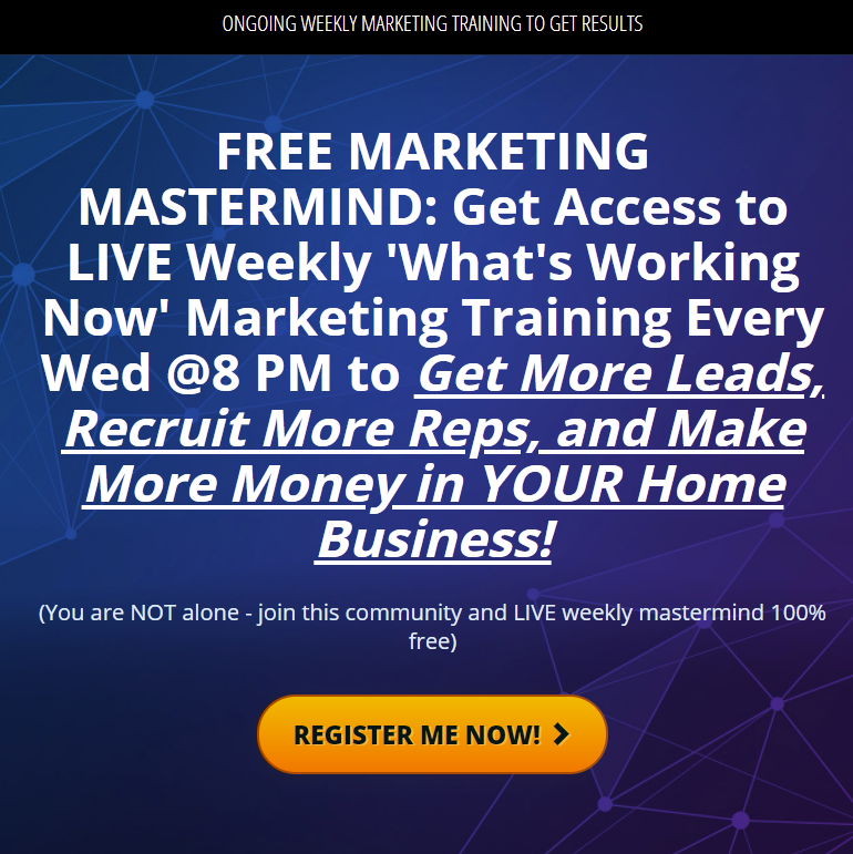 Weekly lead generation marketing webinar