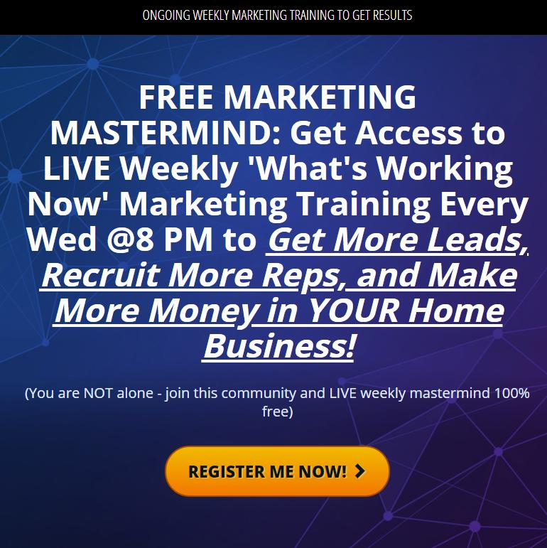 Weekly lead generation marketing webinar
