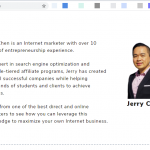 groove funnels asia launch event jerry chen speaker bio
